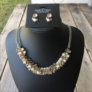 Simply Vera Vera Wang 5-strand necklace w earrings